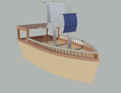 Autocad 3 Boyutlu Gemi Modelleme